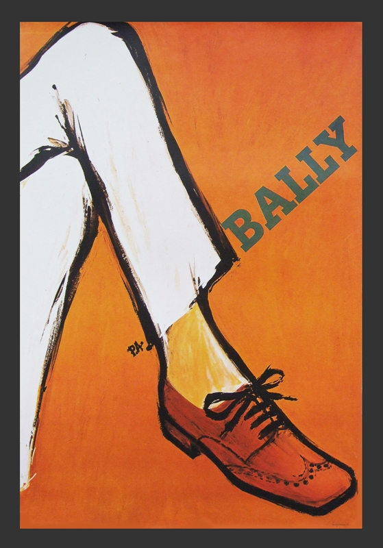 fearsandkahn - Bally Poster Orange